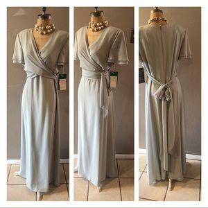 Vintage Maggy London maxi dress size 14